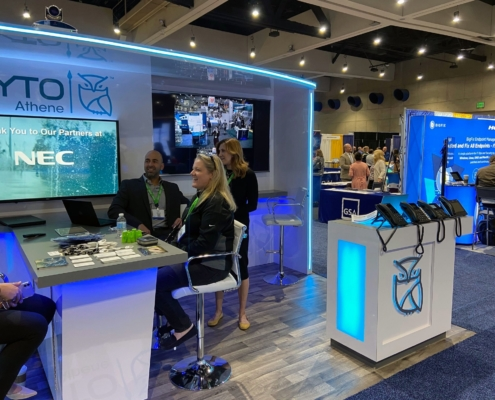 Tyto Athene Booth photos at AFCEA West