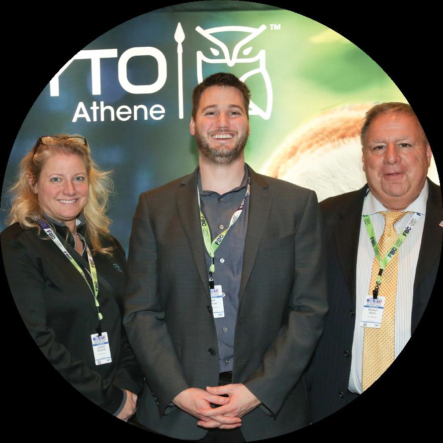 Tyto Athene employees trade shows