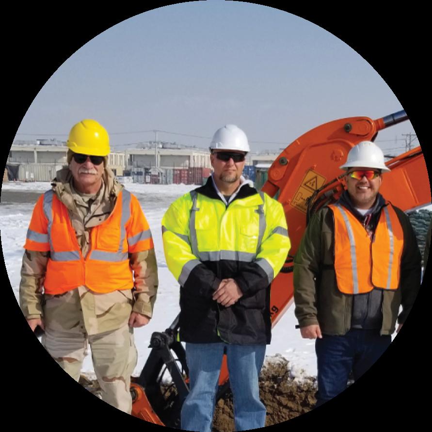Tyto Athene employees on site