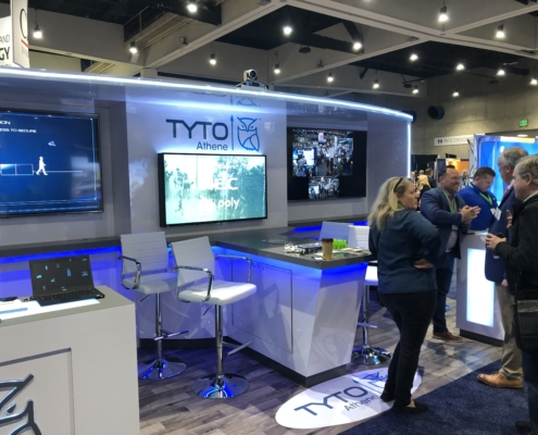 Tyto Athene Booth at AFCEA West
