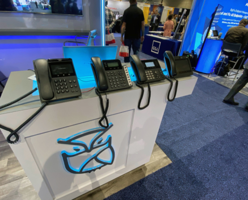NEC phones at AFCEA West Tyto Athene