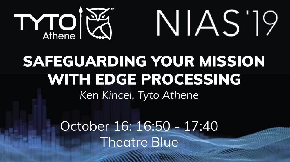 Tyto Athene's Director of Product Management, Ken Kincel, Presenting on October 16th at NIAS 2019 in Mons, Belgium