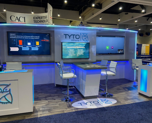 AFCEA West Tyto Athene Booth